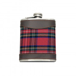 Flasque Tartan Rouge 200 ml