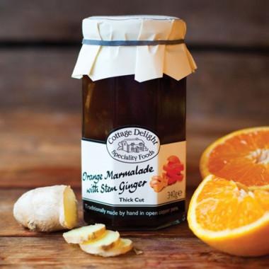 Marmelade Orange & Gingembre Cottage Delight 340g