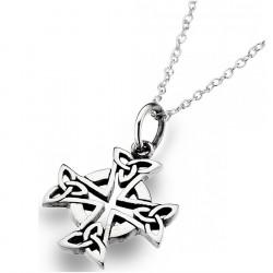 Pendentif Argent Croix Celtique