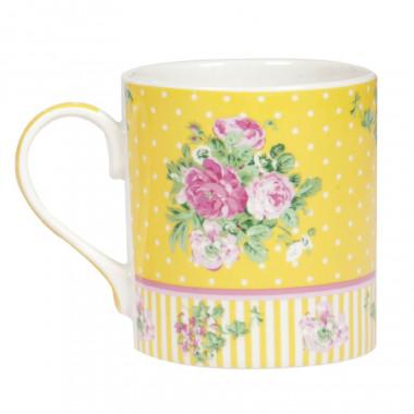 Mugs Porcelaine Fleurs Retro 285ml