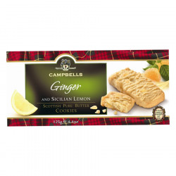 Cookies Gingembre et Citron 125g