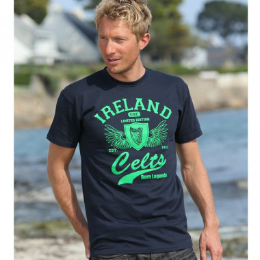 T-Shirt Ireland Celts Marine