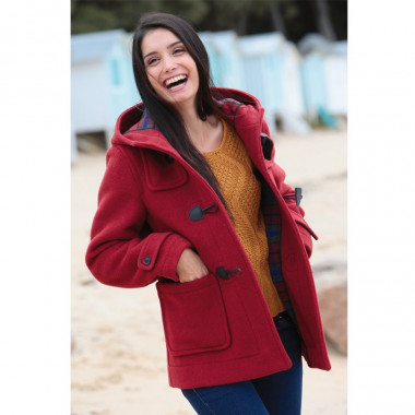 Duffle-Coat Court Erica Piment