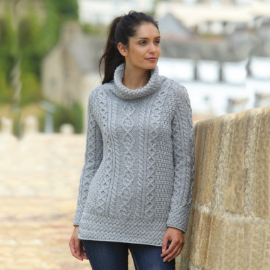 Pull Tunique Gris Carraig Donn