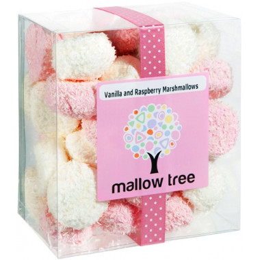 Marshmallows Mallow Tree Vanille & Framboise 180g