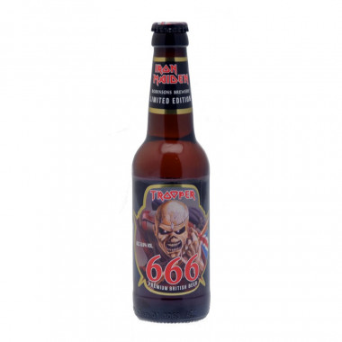 Trooper 666 Iron Maiden Edition Limitee 33cl 6.6°
