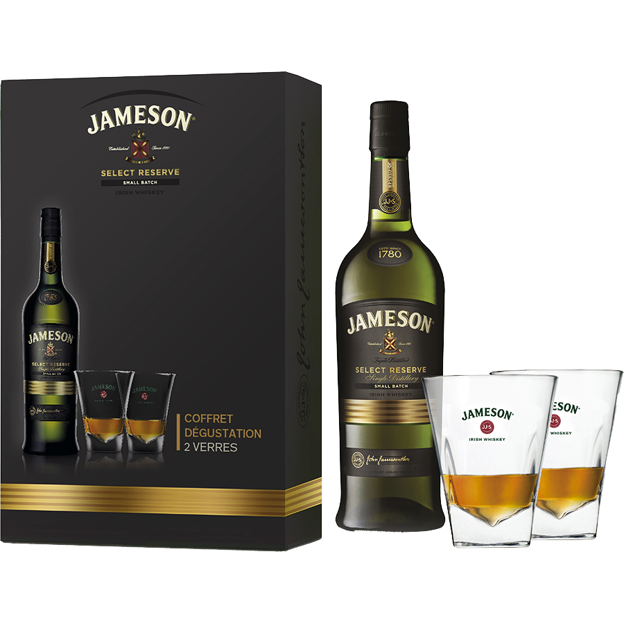 verre a whisky jameson. Black Bedroom Furniture Sets. Home Design Ideas
