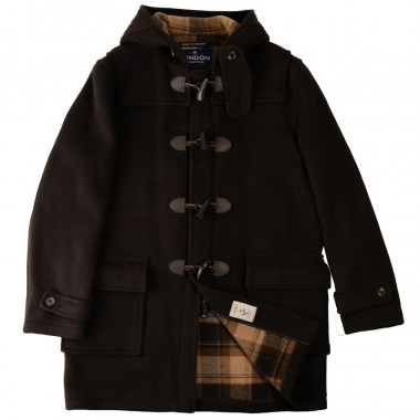 Duffle-Coat Zippé Barry Marron