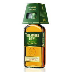 Ensemble Tullamore Dew 70cl 40° + 1 Verre