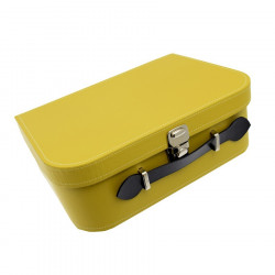 VALISE RECTANGLE ANIS CARTON PETIT MODELE (26x19x9)