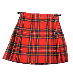 Mini Kilt Royal Stewart Whiterose