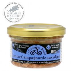 Terrine Campagnarde aux Algues La Ferme du Triskel 80g