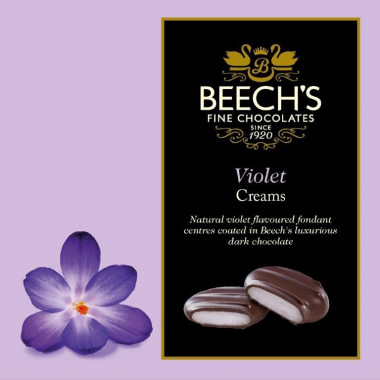 Chocolats Violet Creams Beech's 90g