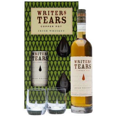 Writer's Tears Copper Pot 70cl 40° & 2 Verres Coffret