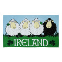 Essuie-mains Moutons Ireland 80x48cm