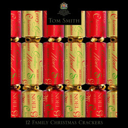 Party Crackers Christmas Design Rouge & Or Tom Smith x12