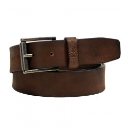 Ceinture Marron Cuir de Buffle Out of Ireland