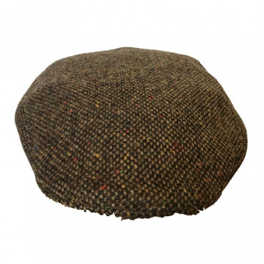 Hanna Hats Heather Brown Cap