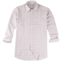 Out Of Ireland Red, Brown and Black Check Shirt