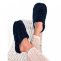 Alwero Dark Blue Wool Basic Slippers