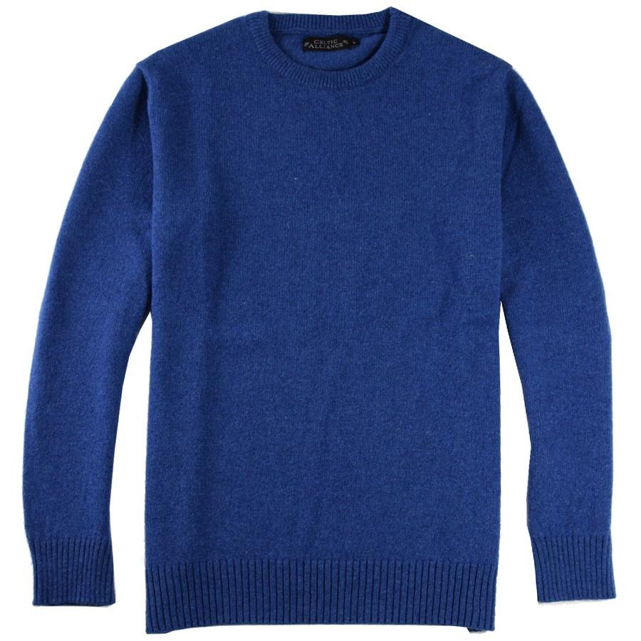 d5d93afd0bb9 Pull Lambswool Bleu Celtic Alliance