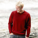 Celtic Alliance Lambswool Red Cherry Sweater