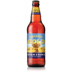 Evan Evans Organic Gold Beer 50cl 4.2°