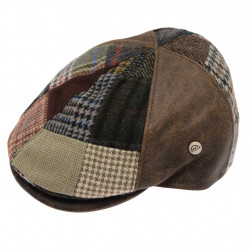Casquette Patch Tweed Suédine Celtic Alliance