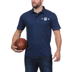 Ruckfield Navy Blue Jersey Polo Shirt