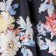 Poncho Marine Imprimé Fleurs Tom Joule