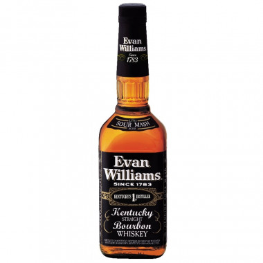 Evan Williams Black Label 1L 43°