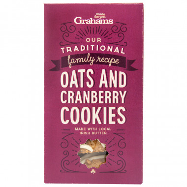 Cranberry Cookies 135g Grahams