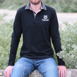 Black Wellis Black Wellington Polo Shirt