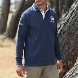 Black Wellis Sea Rescuers Indigo Polo Shirt