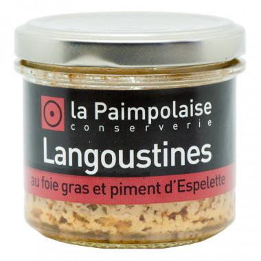 La Paimpolaise Langoustines & Foie Gras Rillettes 80g