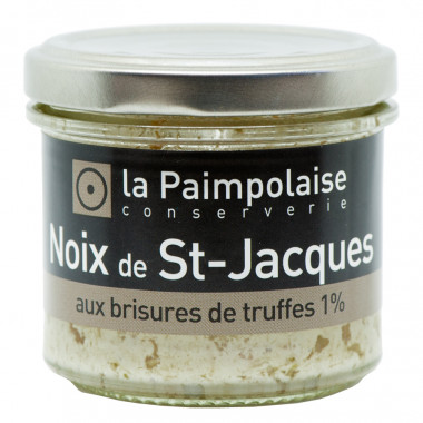 Tartinable St Jacques Truffe La Paimpolaise 80g