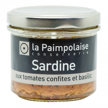 Filets de Sardines & Tomates 80g