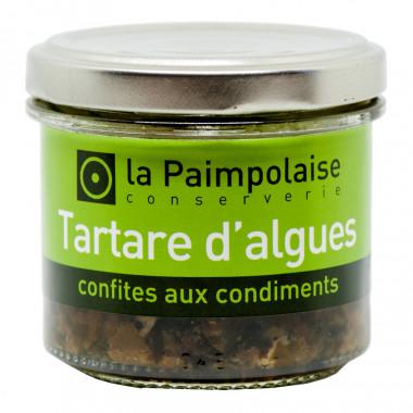 Tartare d'Algues Confites aux Condiments 80G