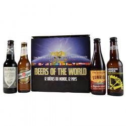 Coffret 12 Bières du Monde - 12 Pays