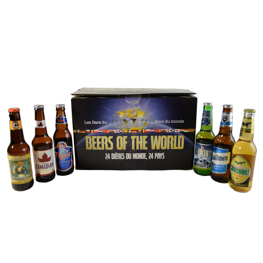 Box beer of the world 24 bieres 24 pays. Loading zoom