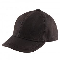 Casquette Baseball Cuir Marron Celtic Alliance