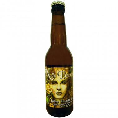 Nuit Blonde Organic Beer 33cl 5.5°