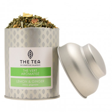 Thé Vert Citron Et Gingembre The Tea 100g