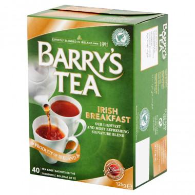 Barry's Thé Irish Breakfast 40 sachets 125g