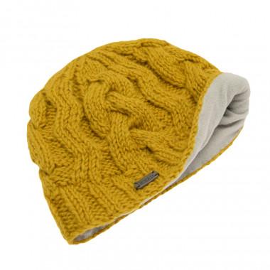 Bonnet ptorsades jaune pk1642