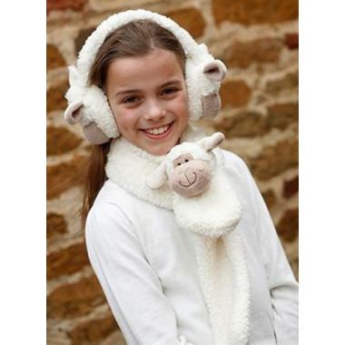 Cuddly Sheep Scarf 91 cm