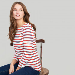 Tom Joule Red Stripes Harbour Jersey Top