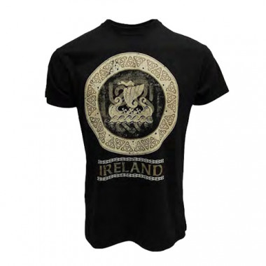 Tee Shirt Mc Ireland Noir Viking
