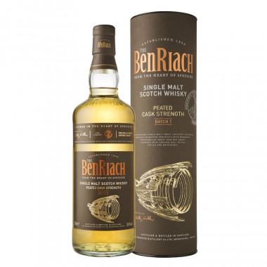 Benriach Peated Cask Strenght Batch 1 70cl 56°