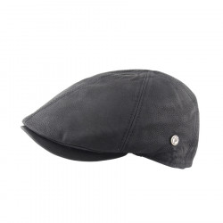 Celtic Alliance Black Leather Cap